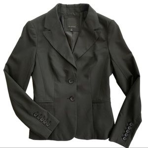 The Limited Black 2 Button Lined Career Blazer 2